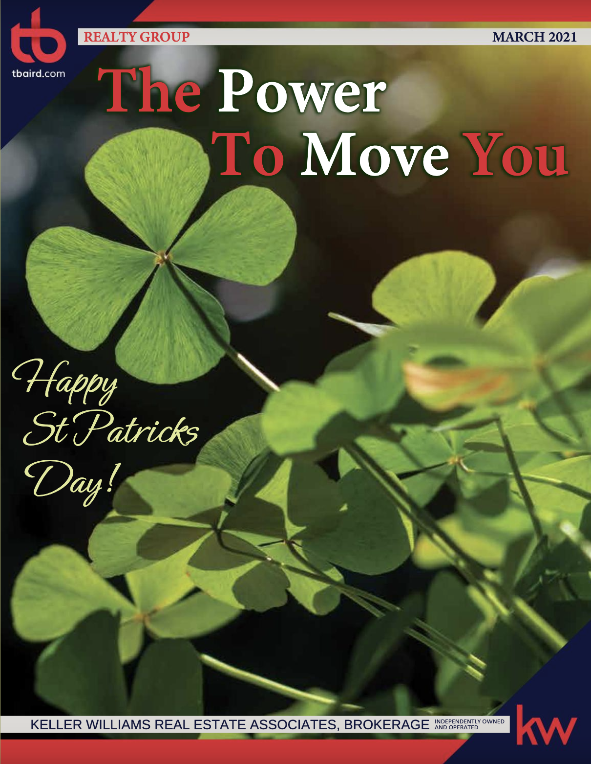 The Power To Move You Magazine - March Issue